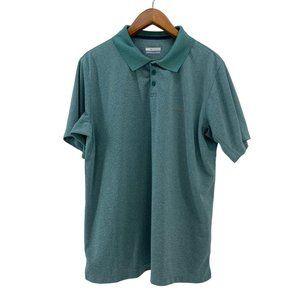 Columbia Short Sleeve Polo Shirt Omni Shade XL